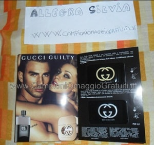Campioni Omaggio Gucci Guilty