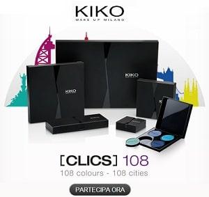 Concorso KIKO Clics 108