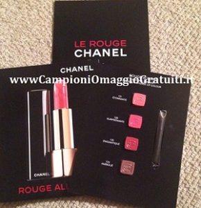 Campioni Omaggio rossetti Chanel
