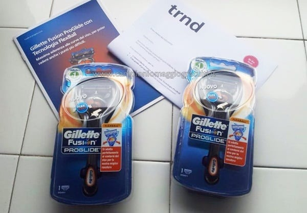 Gillette Fusion ProGlide da Testare Gratis su TRND