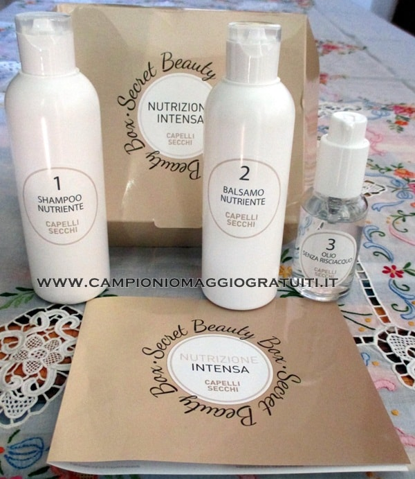 Kit Secret Beauty box da Testare