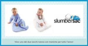 Concorso-a-Premi-Slumbersac-vinci-sacco-nanna-Slumbersac