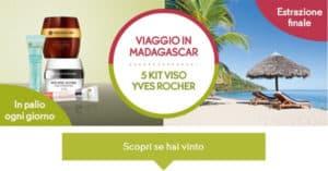 Concorso Vinci Kit di Prodotti Yves Rocher