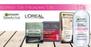 Garnier-LOréal-spendi-15€-ricevi-15€