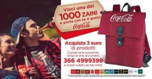 Concorso Con Coca Cola Vinci Uno Zaino