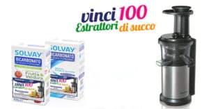 Concorso Solvay 2017 Vinci Estrattori di Succo