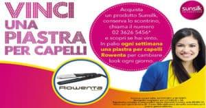 Concorso Sunsilk Vinci Una Piastra Per Capelli