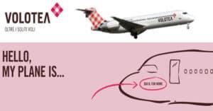 Concorso Volotea Hello My Plane Is