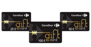 Concorso Carrefour Gift Card