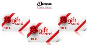 Concorso SC Johnson Vinci una delle 500 Gift Card da 10 euro