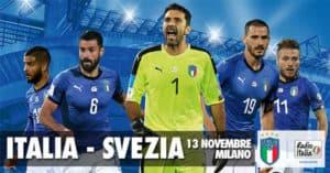 Vinci Gratis biglietti Italia-Svezia