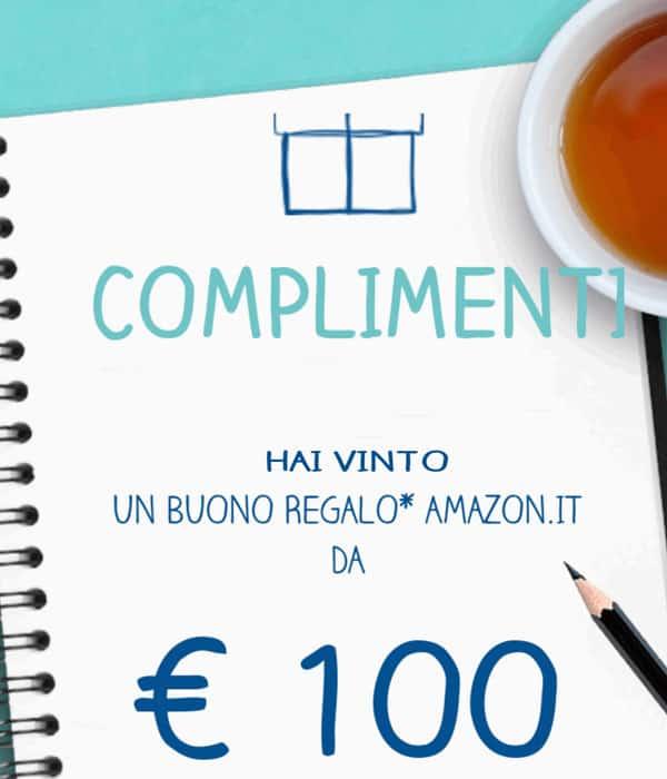 Buono regalo Amazon vinto al concorso buona la vita