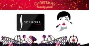 Concorso Sephora Christmas Beauty Park