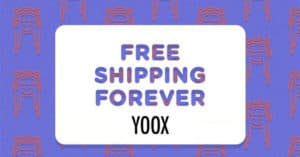Concorso Yook Free Shipping Forever
