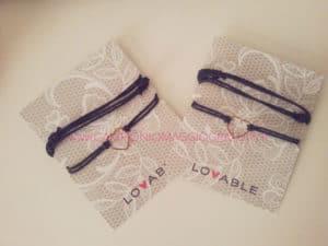 Concorso Ricevi gratis un braccialetto collana cuore Lovable