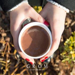 Cioccolata calda Grom gratis