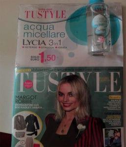 Acqua micellare Lycia omaggio con Tustyle
