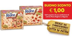 Buono sconto 1 euro pizza Regina La Bigusto