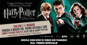 Concorso R101 ti porta sul treno di Harry Potter