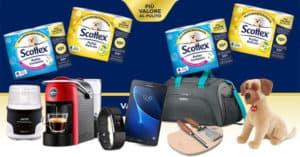 Concorso Scottex Più valore al pulito