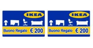 Vinci buoni Ikea da 400 euro